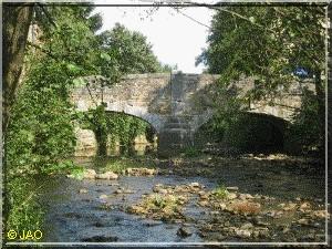 Oude brug over de Hoëgne